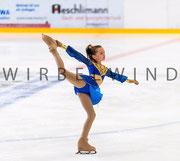 Kürkleid für Eiskunstlauf
