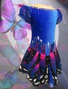 Kürkleid `blauer Schmetterling ´