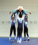 Kürkleidung ( Damenoverall + Herrenkombi ) für Akrobatikgruppe