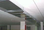 Conducto garaje