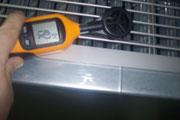 Anemómetro medición caudal