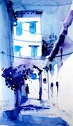 Ruelle bleue