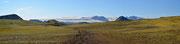 Panoramica del ghiaccio