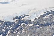 Dettaglio del ghiaciaio