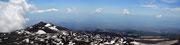 Vista panoramica verso Catania ed il mare