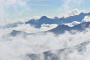 Montagne e nebbia