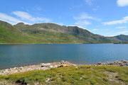 Partenza dal Lago Naret
