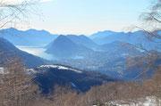 Primo scorcio su Lugano