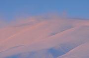 Vento sulla cima del Monte Bar