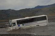 Bus che guada