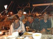 Livemusik auf der Yacht, aktiv mitsegeln, aktiv mitsingen