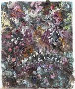 Maria Vogl, Stonefish, 19x24, Öl auf Palette