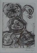 Nest, 30,0 x 40,0 cm, Radierung