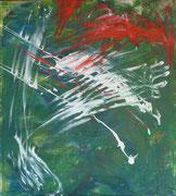 Maria Vogl,o. T., 113x103, Acryl auf Leinwand
