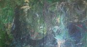 Maria Vogl, Doppelbild, 103x113 + 103x113, Acryl auf Leinwand