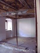 Das Wohnzimmer hinten