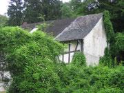 Die Leuner Mühle war einmal sehr unscheinbar ...