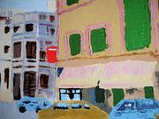 Porreras, Mallorca,  2008, 60 x 80cm, Ölspachtel