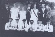 Gruppenbild vom Radfahrerverein Adelheide aus dem Jahre 1927