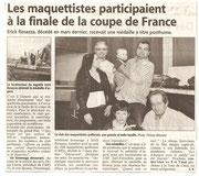 """- Article pour l'expo de Gimont les 17 & 18 avril 2010 : """"Les maquettistes participent à la finale de la coupe de France"""""""