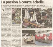 """- Premier article pour l'expo d'Argelès-sur-Mer : """"La passion à courte échelle"""""""