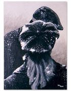 Amour frileux - 38 x 55 cm - 2001