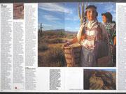 indiennes Navajo en costumes d'apparat, 1976