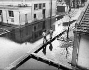 inondations à Hourtin, centre de formation