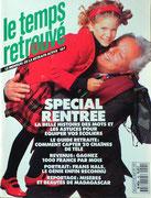 """couverture """" Le Temps Retrouvé """""""