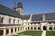 Abbaye de Fontevraud, Ruhestätte von Richard Löwenherz und Alienor von Aquitanien