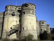 Angers - Kulturelles und geschäftliches Zentrum, ehemaliger Königssitz