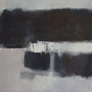 Nocturne #3, 2012 / Acrylic paint, pigment on canvas / 45x45cm / private collection in France