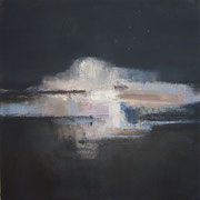 Nocturne #4, 2012 / Acrylic paint, pigment on canvas / 45x45cm / private collection in the Netherlands