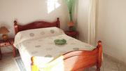 chambre double vert tendre