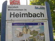 Ankunft In Heimbach.