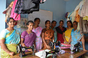 In Kunjampalayam, local women get trained to be a tailor in this tailoring centre.