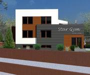 Przebudowa budynku mieszkalnego i garaży na atelier urody w Tucholi - projekt