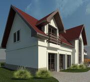 Rozbudowa budynku administracyjnego Nadleśnictwa Rytel - projekt