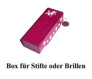 Boxen für Stifte oder Brillen aus Graupappe