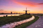 Landschapsfotografie: 'Sunrise' in Werelderfgoed Kinderdijk