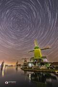 Nachtfotografie van Unesco Werelderfgoed Zaanse Schans