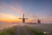 Landschapsfotografie: Omgeven door mist te Streefkerk