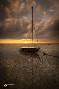 Landschapsfotografie: Stilte voor de storm aan de Oosterschelde