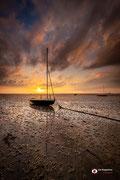 Landschapsfotografie: Last sunlight aan de Oosterschelde