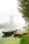 Mist in Bleskensgraaf