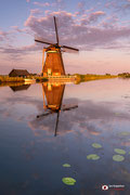 Landschapsfotografie: 'Typical Dutch'; molen bij Groot-Ammers