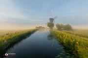Landschapsfotografie: De Tjasker nabij Bleskensgraaf