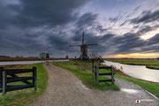 Landschapsfotografie: 'A new morning' in Werelderfgoed Kinderdijk