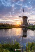 Landschapsfotografie: 'Hope' at mills of Kinderdijk