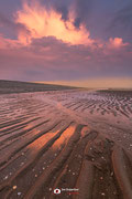 Landschapsfotografie: 'Onweer op komst' gefotografeerd op de Maasvlakte nabij Rotterdam (Zuid-Holland, Nederland)